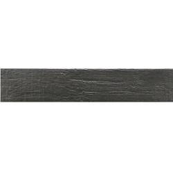 Carrelage NORDIK GRAPHITE imitation parquet anthracite vintage style chevron 7x36 cm - 1m²