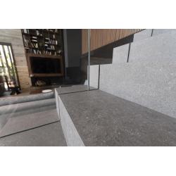 Carrelage effet pierre anthracite 60x60 cm NASSAU GRAFITO R10 - 1.08m² Vives Azulejos y Gres