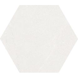 Carrelage grand format  HEXAGONO SEINE BLANC  51.9x59.9 cm - 0.93 m²