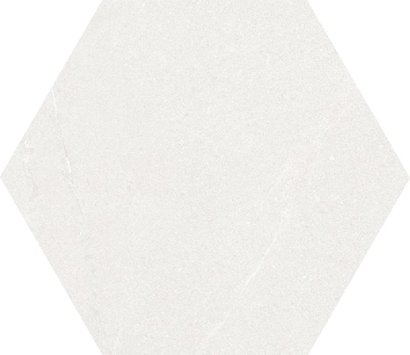 Carrelage grand format  HEXAGONO SEINE BLANC  51.9x59.9 cm - 0.93 m² - zoom