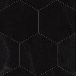 Carrelage grand format HEXAGONO SEINE BASALTO 51.9x59.9 cm - 0.93 m² Vives Azulejos y Gres