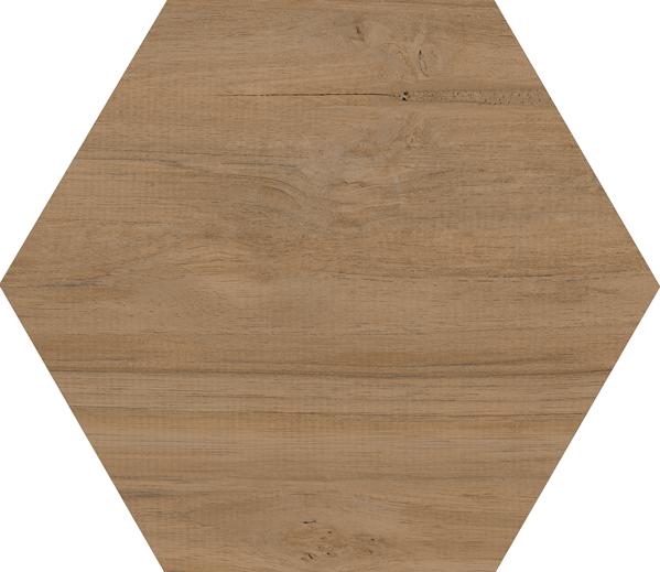 Carrelage grand format HEXAGONO BELICE NATURAL 51.9x59.9 cm - 0.93 m² - zoom