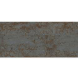 Carrelage rectifié effet métal ZINC BLACK 59.55x119.3 cm - 1.421m²
