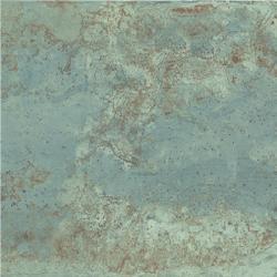 Carrelage rectifié effet métal ZINC GREEN 60X60 - 1.77m²