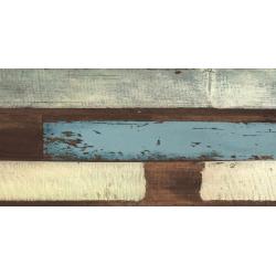 Dalle extérieur imitation bois vieilli multicolor - Karacter vintage SOLID 2CM - 50X100 - 0.495m²