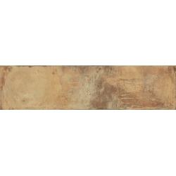 Carrelage imitation terre - Rectifié - 24.9x100 cm TERRE ROSSO - 1.743m²