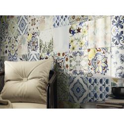 Carrelage imitation ciment aux motifs aléatoires - MICHIQ 25X25 - 0.63m² Baldocer