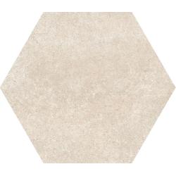 Carrelage tomette 17.5x20 - HEXATILE CEMENT SAND - 22095 R10 - 0.71m²
