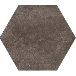 Carrelage tomette 17.5x20 - HEXATILE CEMENT MUD - 22097 R10 - 0.71m²