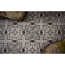 Carrelage imitation ciment 20x20 cm CARDIFF - 1.16 m² Faetano