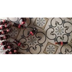 Carrelage imitation ciment 20x20 cm London SOHO - 1.16 m² Faetano