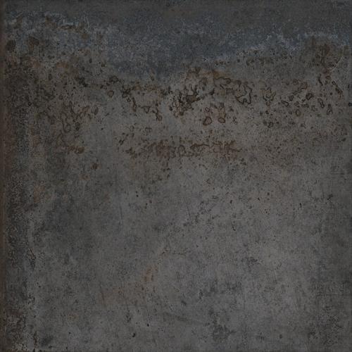 Carrelage effet métal oxydé pleine masse - ALCHIMIA NOIR 80X80 - Rectifié R9 - 1.28m² Delconca Ceramica