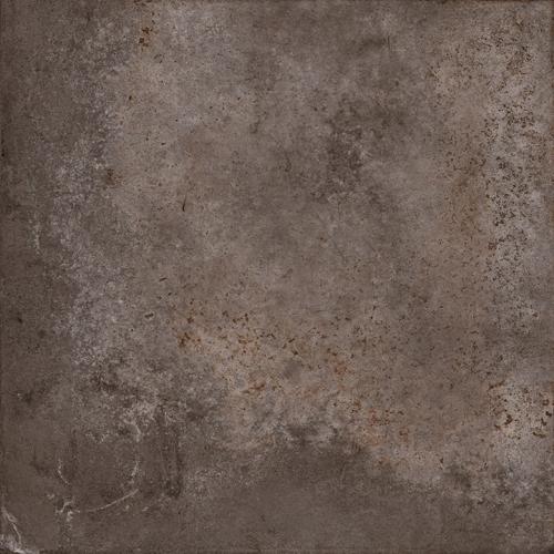 Carrelage effet métal oxydé pleine masse - ALCHIMIA MOKA 80X80 - Rectifié  R9 - 1.28m² Delconca Ceramica