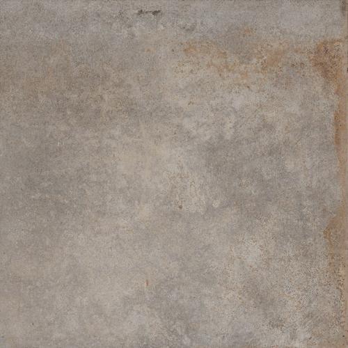 Carrelage effet métal oxydé pleine masse - ALCHIMIA GRIS 80X80 - Rectifié R9 - 1.28m² Delconca Ceramica