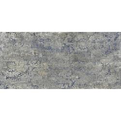 Carrelage effet tissu bleu pleine masse - TIMELINE 60X120 - Rectifié  - R10 - 1.44m²