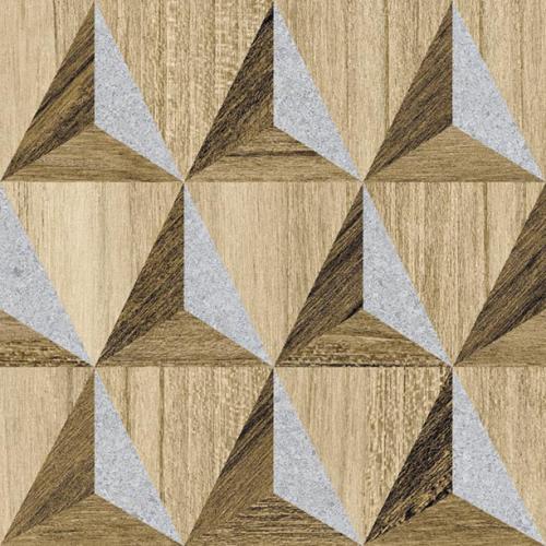 Carrelage aspect bois décoré - KOMI NOKREK-R 20X20 - 1m² - As de Carreaux