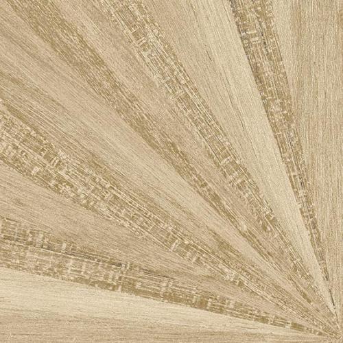 Carrelage aspect bois décoré - KOMI MURLEN-R CREMA 20X20 - 1m² - As de Carreaux