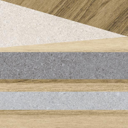 Carrelage aspect bois décoré - KOMI ERANAN-R MIEL 20X20 - 1m² Arcana