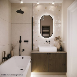 Carreau style granito 80x80 cm Ribe-R Beige R10 - 1.28m² Arcana