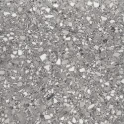 Carrelage imitation terrazzo rectifié 60x60cm MARMETTE ANTRACITE - 1.08m²