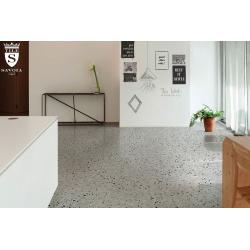 Carrelage imitation terrazzo rectifié 60x60cm MARMETTE MIX - 1.08m² Savoia