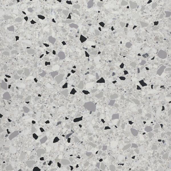 Carrelage imitation terrazzo rectifié 60x60cm MARMETTE MIX - 1.08m² - zoom