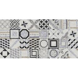 Carrelage imitation terrazzo décoré 21.6x21.6cm DECOR MULTICOLOR  - 1.31m²