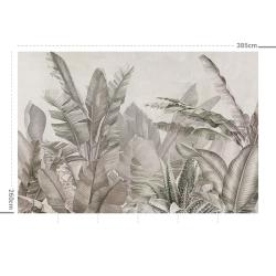 Papier peint design auto adhésif PANORAMIQUE - Orinoco Soft - plusieurs dimensions AP Decoration