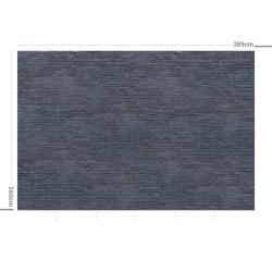 Papier peint design auto adhésif PANORAMIQUE - Brick Blue Dark - plusieurs dimensions AP Decoration