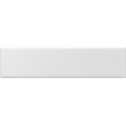 Faience nuancée mate moderne blanche MATELIER ALPINE WHITE - 26485 - 7.5x30 cm - 1m² Equipe