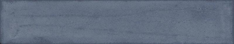 Faience vintage brillante bleu nuit - BLU NOTTE BRICK 7.5x40 cm - 1.32m² - zoom