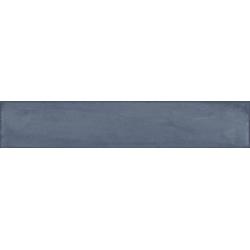 Faience vintage brillante bleu nuit - BLU NOTTE BRICK 7.5x40 cm - 1.32m² Faetano