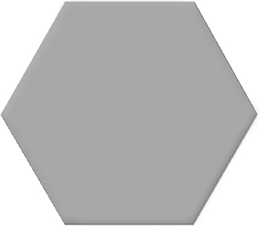 Tomettes décorées ciment 20x24 VERSALLES GREY - 0.92m² - zoom