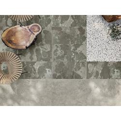 Carrelage effet pierre - Rectifié - Lithops Hopi Stamp Natural 59.5x59.5 R10 - 1.42m² Aparici