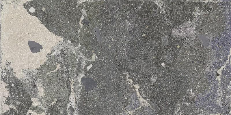 Carrelage effet pierre - Rectifié - Lithops Lipan Stamp Natural 49,75x99,55 cm R10  - 1,49m² - zoom