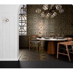 Art-Deco Black Spritz Natural - Rectifié - 29x29 cm - 1,15m² Aparici