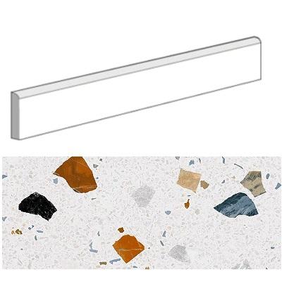 Plinthe STRACCIATELLA-R Nacar 9.4x80 cm - 12mL (15 plinthes) - zoom