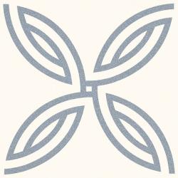 Carrelage décoration 20x20 cm AFFTON BLANC Rectifié - 1m²