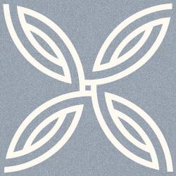 Carrelage décoration 20x20 cm AFFTON BLEU Rectifié - 1m²