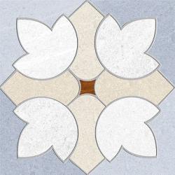 Carrelage imitation ciment 15x15 cm GREENVILLE BLEU CIEL Rectifié - 1m²