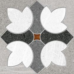 Carrelage imitation ciment 15x15 cm GREENVILLE GRIS Rectifié - 1m²