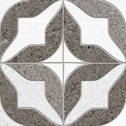 Carrelage imitation ciment 15x15 cm MUNCIE GRIS Rectifié - 1m²