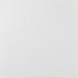 Carrelage légèrement nuancée blanche 20x20 cm ALPAGA BLANC - 1m²