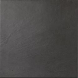 Carrelage légèrement nuancée noir 20x20 cm ALPAGA NOIR - 1m²