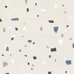 Carreau style granito coloré 80x80 cm NAPPAGE DECOR BIANCO -R10- 1.28m²