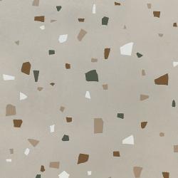 Carreau style granito coloré 80x80 cm NAPPAGE DECOR TITANE -R10- 1.28m²