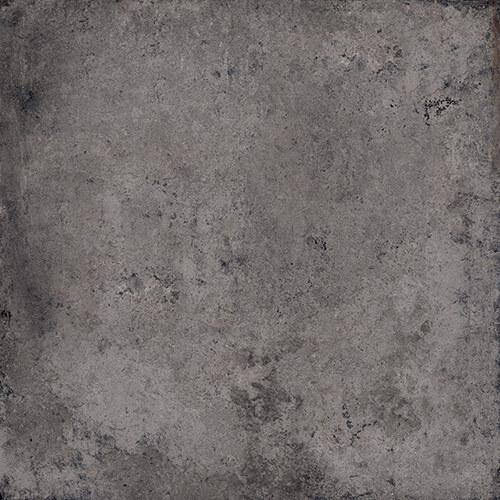 Carrelage imitation pierre DOVER SOOT 80x80 cm - R10 - Rectifié - 1.28m² - zoom