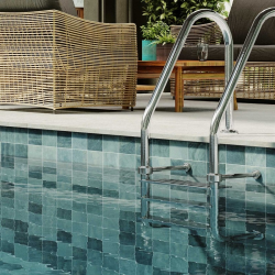 Carrelage style piscine tropicale EDEN BALI 33X33 cm - 1m²