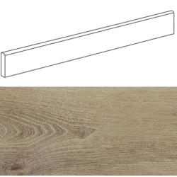 Plinthe imitation parquet bois BELFAST TEAK 10x80 cm - 11.2 ml