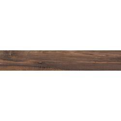 Plinthe carrelage imitation parquet Rectifié - BAREGE MOGANO 6.5X120 - 6 unités